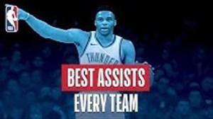 برترین پاس گلهای بسکتبال NBA درفصل 19-2018