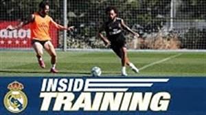 تمرین کامل رئال مادرید 25-05-98