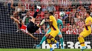 بیلبائو 1-0 بارسلونا: آدوریز، یازده بارسا را قیچی کرد