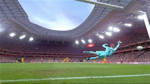 عملکرد ترشتگن در اولین بازی فصل مقابل بیلبائو