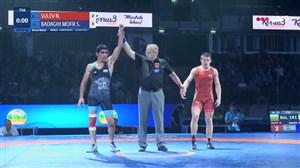کسب مدال برنز شاهین بداغی در وزن 63 کیلو گرم