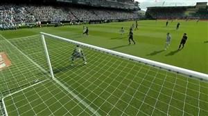گل اول سلتاویگو به رئال مادرید ( لوسادا)