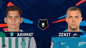 خلاصه بازی زنیت سنت پترزبورگ 0 - احمد گروژنی 0