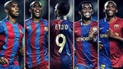 تمام گلهای ساموئل اتوئو در بارسلونا از 2004 تا 2009