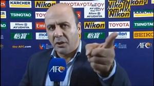 عصبانیت اسماعیل تقی پور پس از شکست برابر نماینده ژاپن