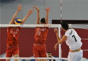 شکست تیم والیبال نوجوانان ایران مقابل ایتالیا