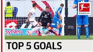5 گل برتر هفته اول بوندسلیگا 20-2019