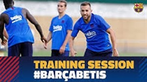 تمرین تیم بارسلونا (29-05-98)