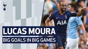 لوکاس مورا ؛ گلهای بزرگ در بازیهای بزرگ