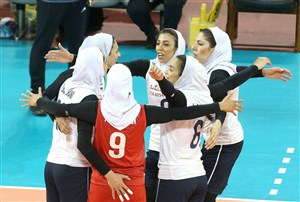 صعود بانوان والیبالیست ایران به جمع ۸ تیم