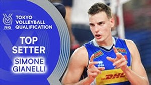 مهارتهای جیانلی پاسور تیم والیبال ایتالیا 2019