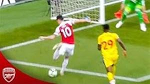 درخشش های مسوت اوزیل در فصل نه چندان خوب 19-2018