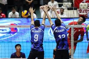تیم والیبال نوجوانان ایران به مصاف بلغارستان میرود