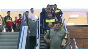 بازگشت تیم ملی کشتی فرنگی جوانان ایران