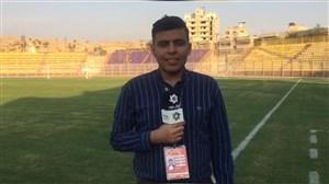 وضعیت ورزشگاه شهید محمدی قبل از دیدار نفت مسجد سلیمان- تراکتور