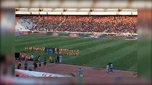 اولین آیین ورود بازیکنان به زمین در لیگ برتر نوزدهم
