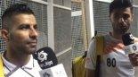 صحبت های عسگری و حسین ابراهیمی پس از بازی با تراکتور