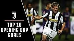10 گل برتر یوونتوس در اولین هفته های تاریخ سری آ