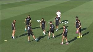 تمرین امروز تیم رئال مادرید (01-06-98)