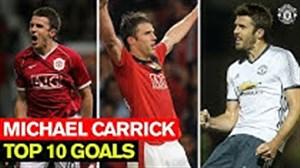 10 گل برتر مایکل کریک در منچستریونایتد