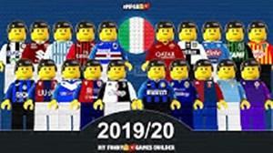 پیش نمایش تیمهای حاضر در سری آ فصل 20-2019 با لگو