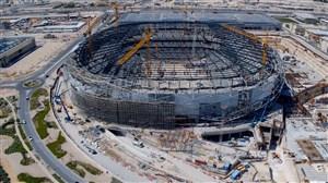 تایم لپس زیبا از مراحل ساخت ورزشگاه بنیاد قطر