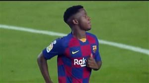 عملکرد آنسو فاتی جوان 16 ساله بارسلونا مقابل بتیس