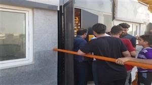 مشکل ورود به ورزشگاه و بلیت الکترونیکی در بوشهر