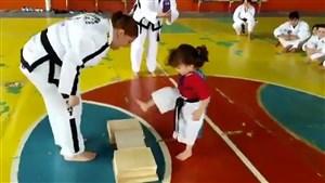 حرکات جالب کاراته کای کوچک