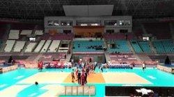 لحظه پیروزی تیم نوجوانان ایران در مقابل کوبا