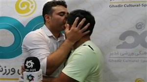 دلجویی نظرمحمدی از روانخواه بعد از پایان بازی
