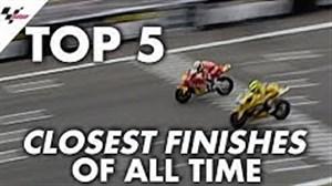 5 قهرمانی ستارگان موتو جی پی در لحظات آخر