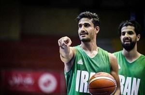 ارتباط مستقیم با تمرین تیم ملی بسکتبال ایران