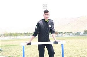 دونده ایران در مسابقات هند قهرمان شد