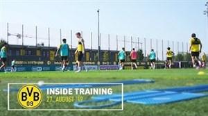 تمرینات امروز تیم دورتموند در بوندسلیگا