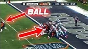 غیب کردن توپ در مسابقات فوتبال آمریکایی