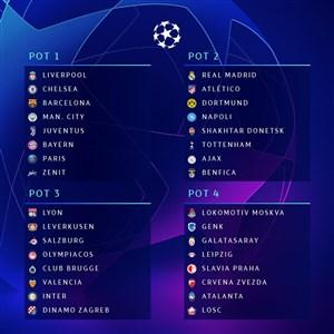 مراسم کامل قرعه کشی لیگ قهرمانان اروپا 20-2019(گزارش اختصاصی)