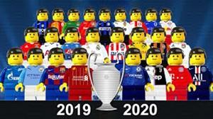 تیمهای حاضر در لیگقهرماناناروپا 20-2019 با لگو