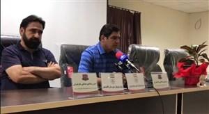 کنفرانس خبری رضا مهاجری پیش از بازی با پیکان
