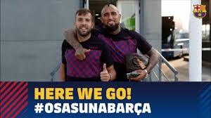 سفر بازیکنان بارسا به پامپلونا برای دیدار با اوساسونا
