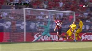 گل اول اوساسونا به بارسلونا ( روبرتو تورس )