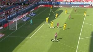 آنالیز گل اوساسونا به بارسلونا (گل اول بازی)