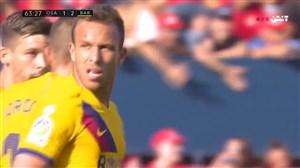 گل دوم بارسلونا به اوساسونا ( آرتور ملو )