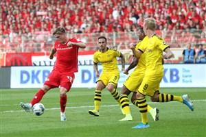 خلاصه بازی یونیون برلین 3 - دورتموند 1