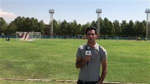 گزارش اختصاصی از تمرین تیم امید