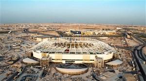 پیشرفت ساخت استادیوم جدید الریان برای جام جهانی