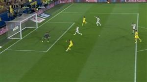 گل اول ویارئال به رئال مادرید (جرارد مورنو)