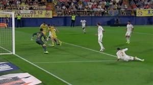 گل دوم ویارئال به رئال مادرید (ماریو گومز)
