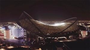 مراحل آماده سازی استادیوم الخلیفه قطر برای جام جهانی