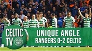پیروزی در دربی اسکاتلند از دوربین باشگاه سلتیک